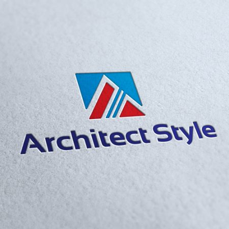 Architect Style Logo Template