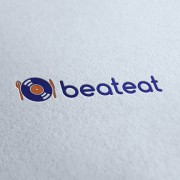 Beat Eat Logo Template