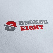 Broken Eight Logo Template