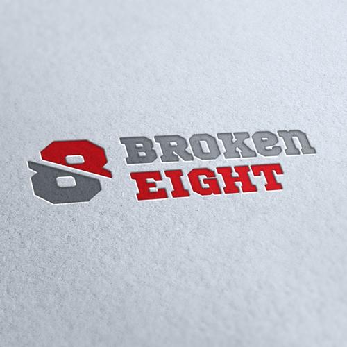 Broken Eight Logo Template