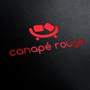 Canape Rouge Logo Template