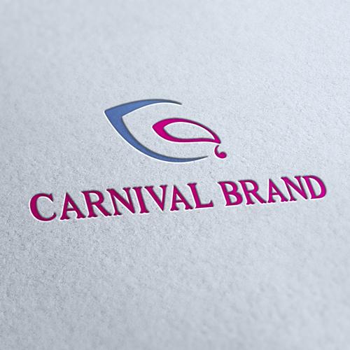 Carnival Brand Logo Template