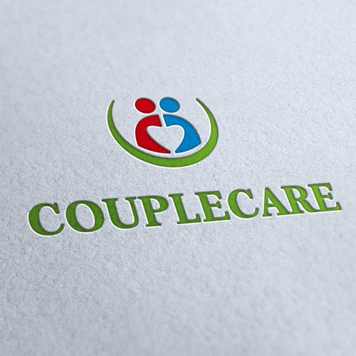 Couple Care Logo Template