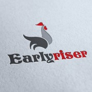 Early Riser Logo Template