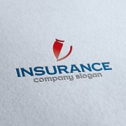 Insurance Company Logo Template
