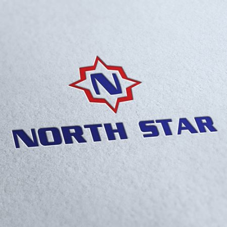 North Star Logo Template