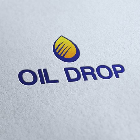 Oil Drop Logo Template