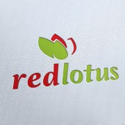 Red Lotus Logo Template