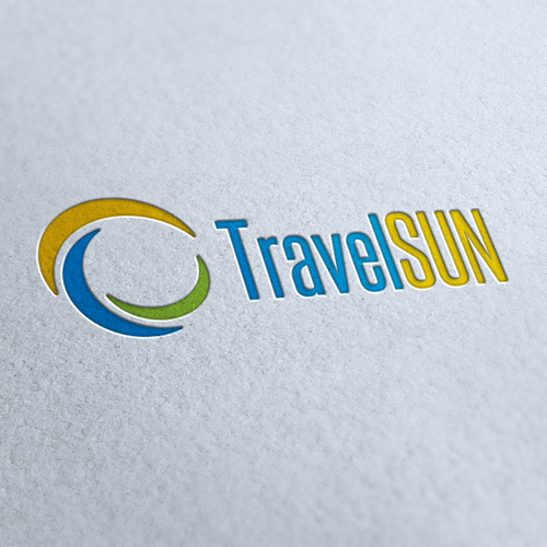 Travel Sun Logo Template