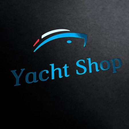 Yacht Shop Logo Template