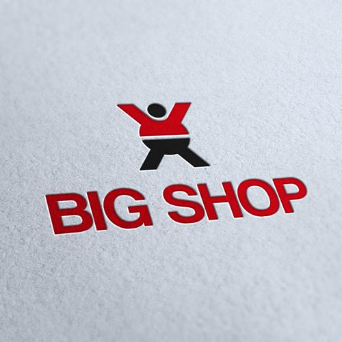 Big Shop Logo Template