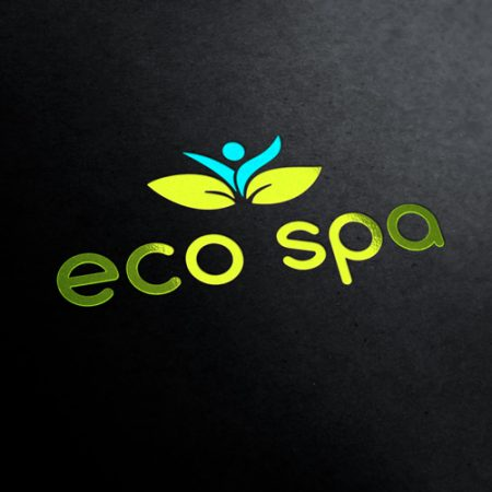 Eco Spa Logo Template