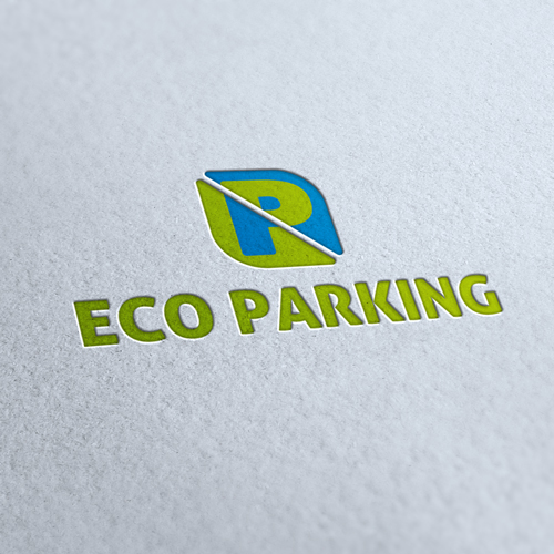 Eco Parking Logo Template