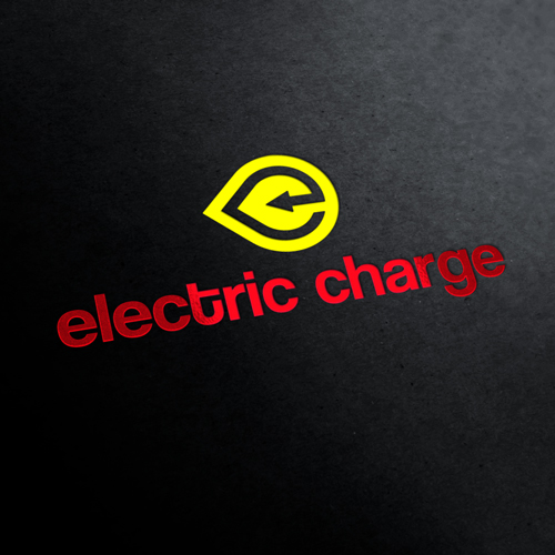 Electric Charge Logo Template