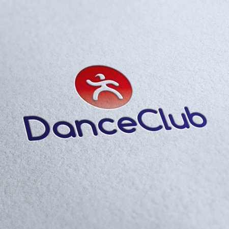 Dance Club Agency Logo Template