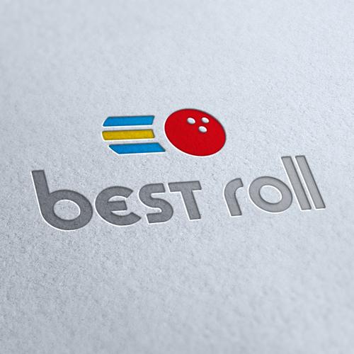 Best Roll Amusement Logo Template