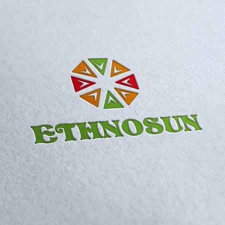 Ethno Sun Logo Template
