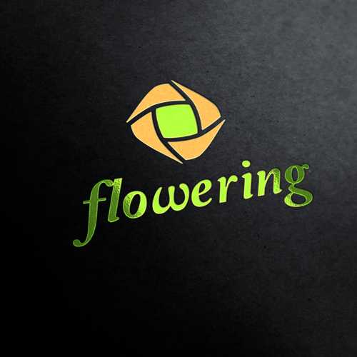 Flowering Flower Company Logo Template