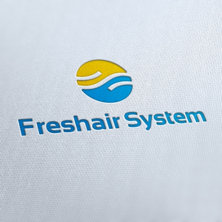 Fresh Air System Logo Template