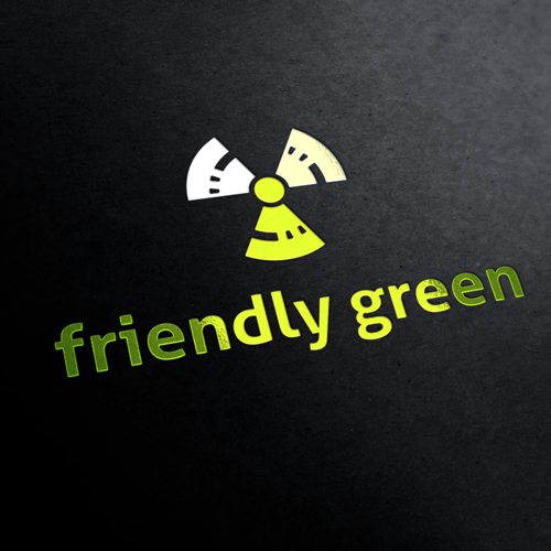 Friendly Green Eco Project Logo Template