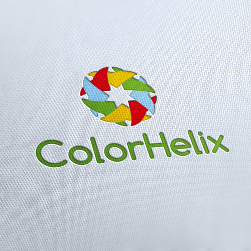 Color Helix Logo Template