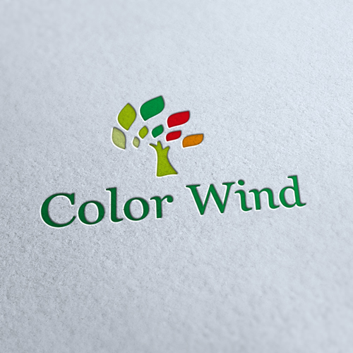 Color Wind Logo Template