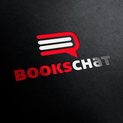 Books Chat Logo Template