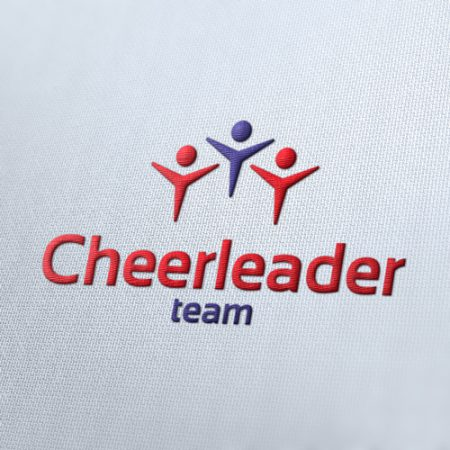 Cheerleader Sport Logo Template