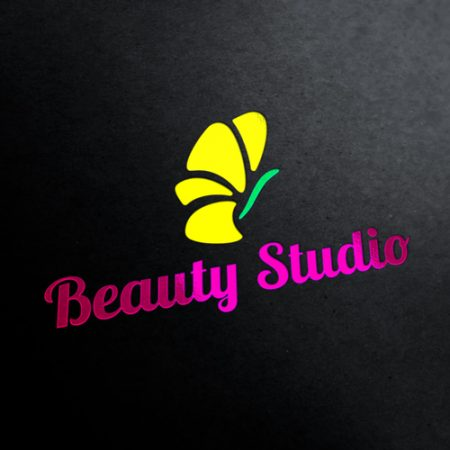 Beauty Studio Logo Template
