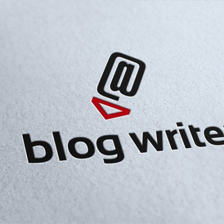 Blog Writer Logo Template