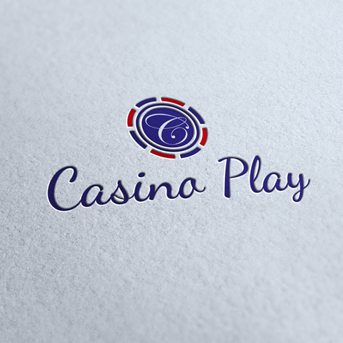 Casino Play Logo Template