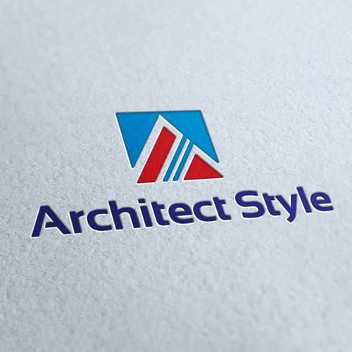 Architect Style Logo Template