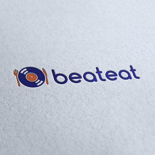 Beat Eat Logo Template