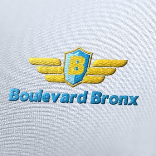 Boulevard Bronx Logo Template
