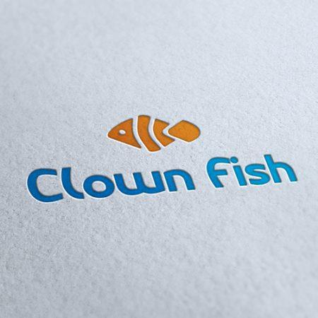 Clown Fish Logo Template