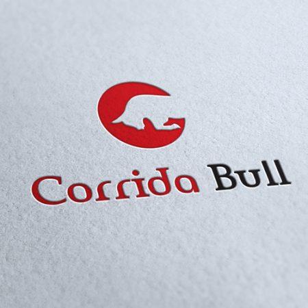 Corrida Bull Logo Template