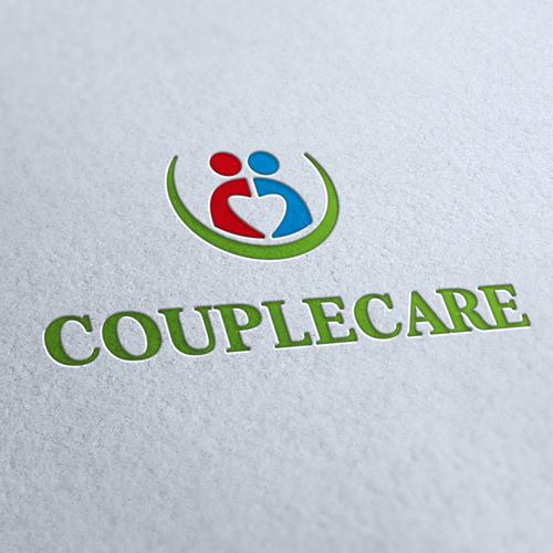 Couple Care Logo Template