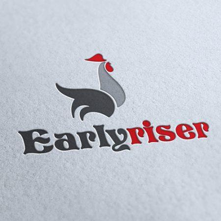 Early Riser Logo Template