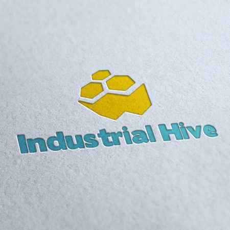Industrial Hive Logo Template