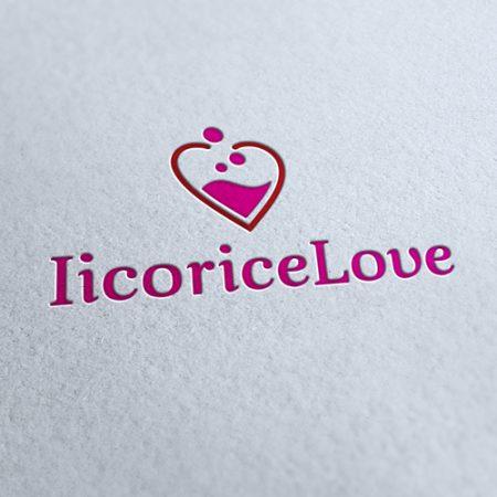 licorice love Logo Template