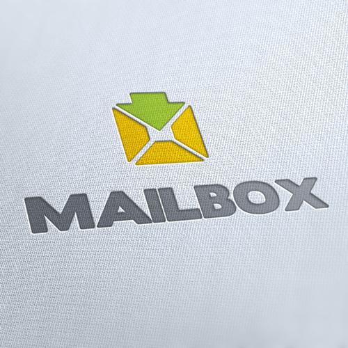 Mail Box Logo Template