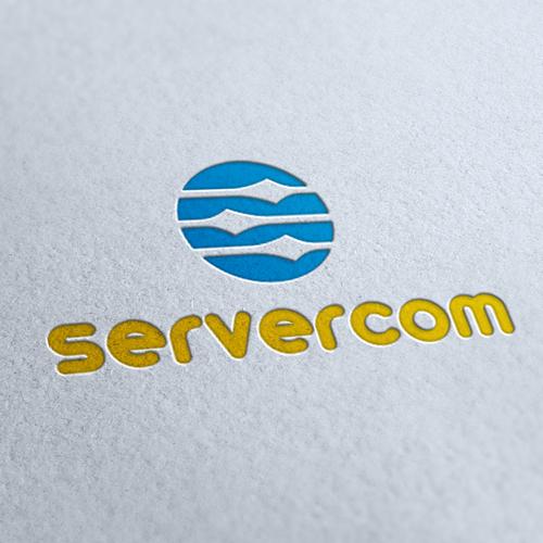 Server Com Logo Template