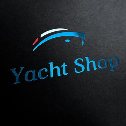 Yacht Shop Logo Template