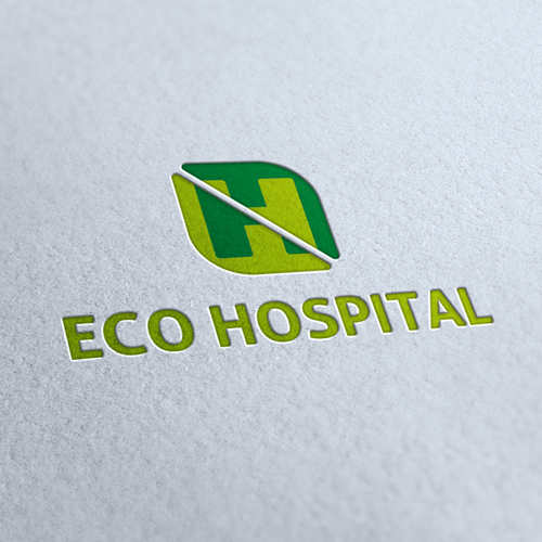 Eco Hospital Logo Template