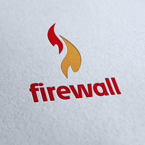 Firewall Company Logo Template