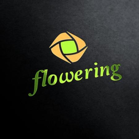Flowering Flower Company Logo Template