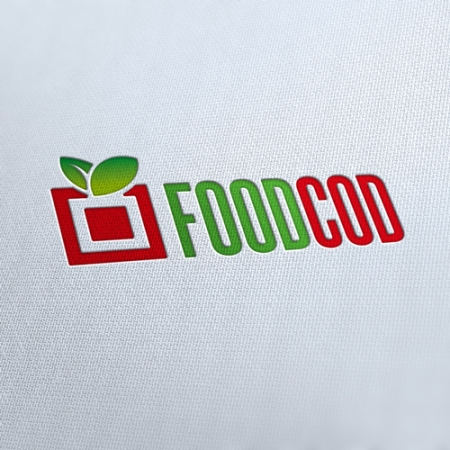Food Code Product Logo Template