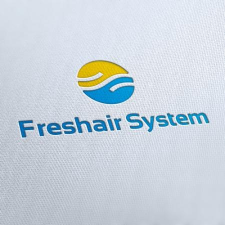 Fresh Air System Logo Template