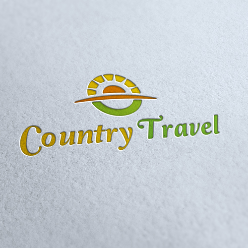 Country Travel Agency Logo Template