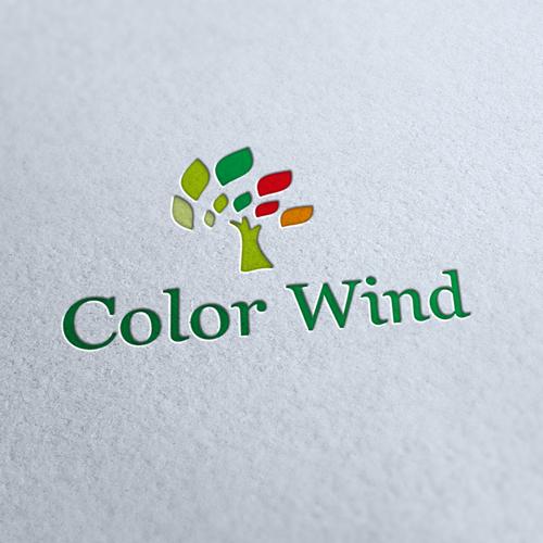 Color Wind Logo Template